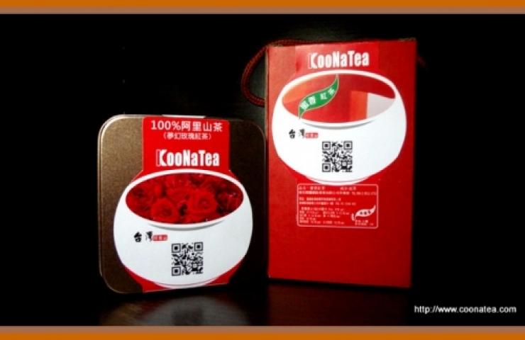 CooNaTea 阿里山夢幻玫瑰紅茶-立體三角茶包
