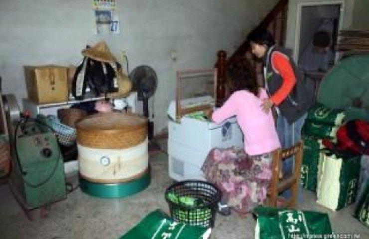 阿里山茶之包裝