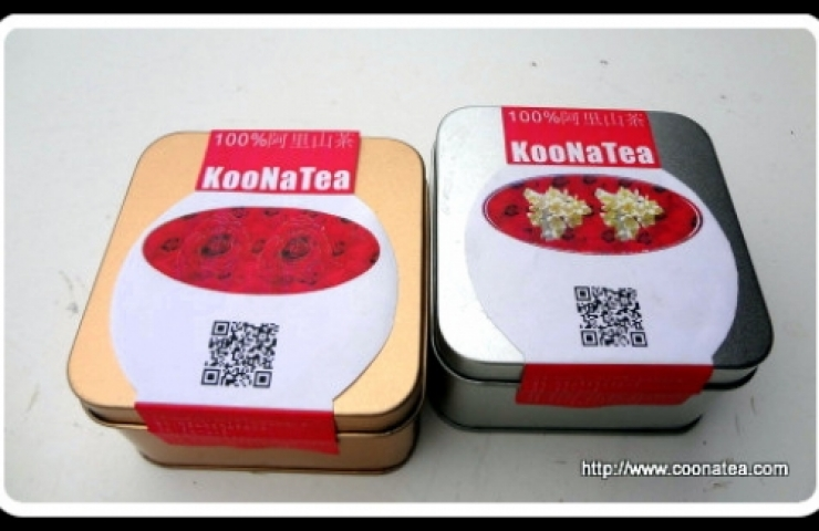 CooNaTea 阿里山茶立體茶包