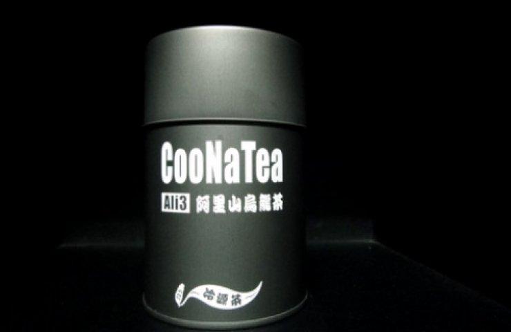 CooNaTea 阿里山茶包裝-塔山之罐