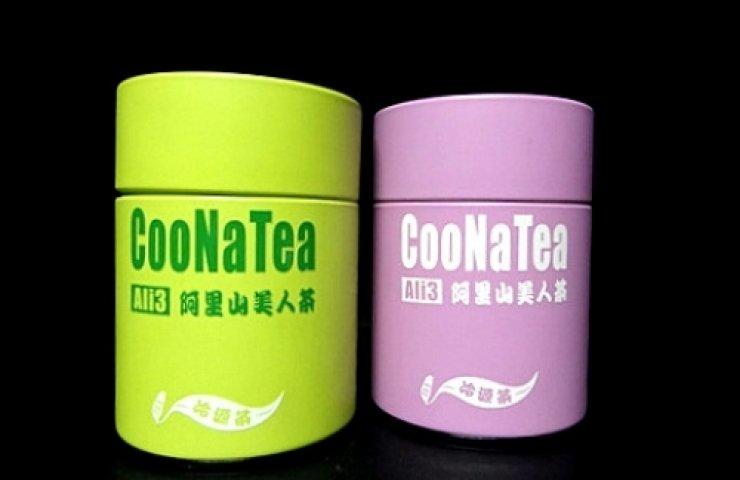 CooNaTea 阿里山茶包裝-紅綠雙星
