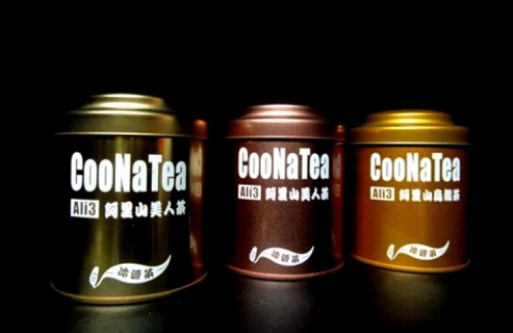 CooNaTea 阿里山茶包裝-南線叁星