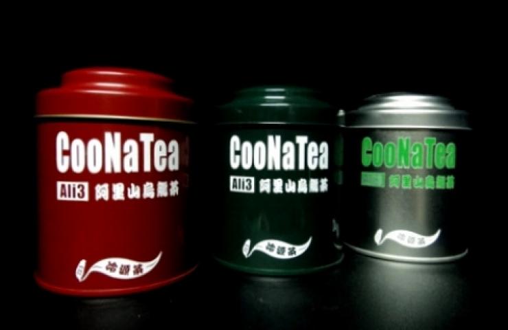 CooNaTea 阿里山茶包裝-北線叁星