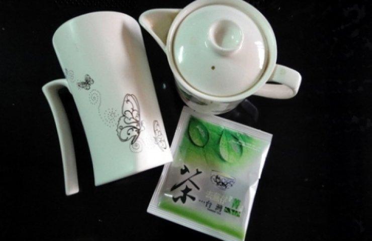 阿里山立體茶包熱泡法