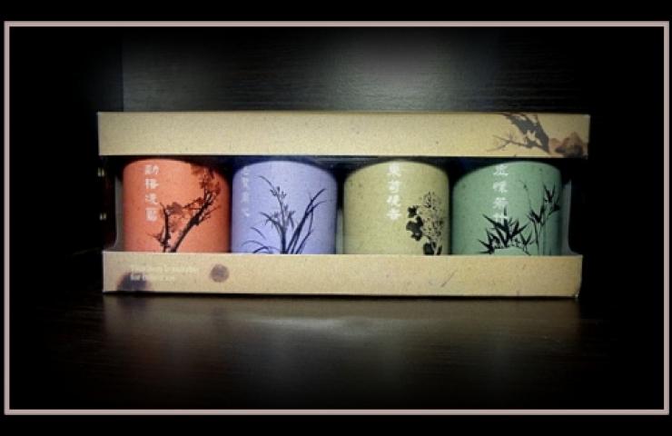 CooNaTea 阿里山茶旅行茶包組 2012新版