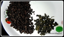 阿里山老茶與新茶比較