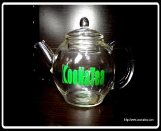 KooNaTea 耐熱玻璃茶壺